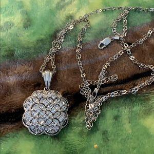 Sterling Swarovski Crystals Pendant